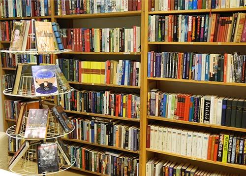 Lantula-talon kirjasto